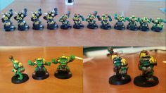 Bloodbowl: Orc Team