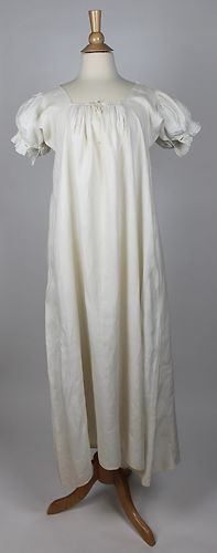 Wonderful Regency Women's Early Antique Linen Chemise 1810 1825 | eBay