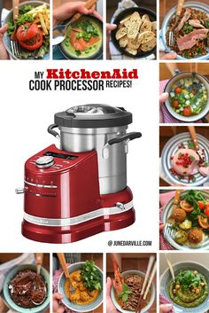 Do you have a KitchenAid Cook Processor? Or anyone you know? Then check out my personal Cook Processor recipes collection!