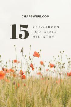 Girls ministry resource