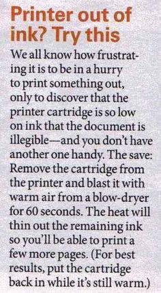 Get more ink