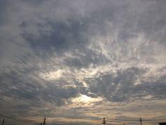 The skies in Japan.