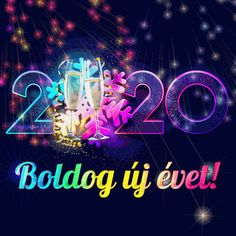 Happy New Year 2020 (animated GIF) - Megaport Media Happy New Year Gif, Happy New Year Images, Christmas Time, Xmas, Share Pictures, Animated Gifs, Urdu Poetry Romantic, Morning Greeting, Holidays And Events