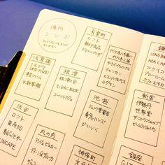 【手帳アイデア】フレームで作る「場所コンボ」 – シンクアイデアズ:スケッチジャーナルの世界