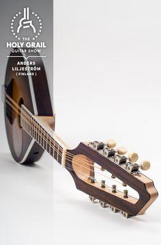 Exhibitor at The Holy Grail Guitar Show 2014: Anders Liljeström, Finland  www.liljestromguitars.com http://holygrailguitarshow.com
