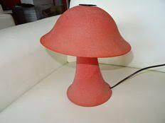 Afbeeldingsresultaat voor paddestoel van glas lamp