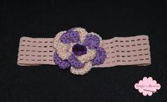 Crochet baby headband     www.facebook.com/craftsnreveries