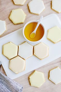 Honeycomb cookies (click through for recipe)