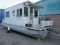 Trailerable Houseboats | 1974 Kayot Houseboat Trailerable in Powerboats & Motorboats | eBay ...