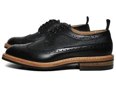 two tone long wing brogue by tricker's for end hunting co.