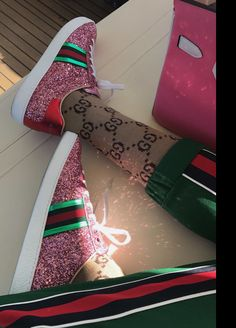 Gucci Shoes, Glitter, Street Style, Boots, Sneakers, Crotch Boots, Tennis, Slippers, Urban Style