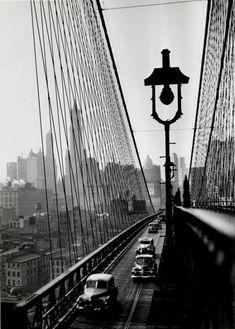 Brooklyn Bridge, 1946Photo by Esther Bubley