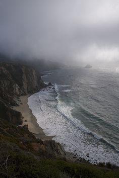 Haunting Seascape