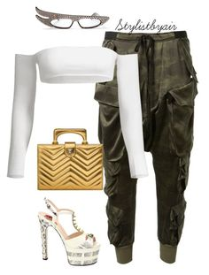 Untitled #7562 by stylistbyair on Polyvore featuring polyvore, fashion, style, Gucci and clothing