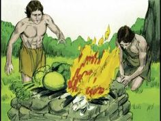 Adam and Eve have two sons, Cain and Abel. Cain makes an offering to God which is not accepted and so he murders his brother. Sabbath Lesson, Caim E Abel, Catholic Religious Education, Family Bible Study, Cain And Abel, Prayer Stations, Catechist, Christian Families, Bible Activities