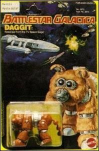 1970's Daggit Battlestar Galactica Action Figure