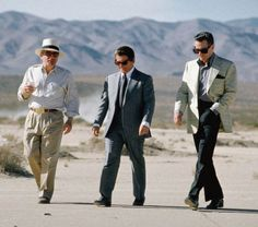 "Martin Scorsese, Joe Pesci & Robert De Niro in ""Casino"", 1995"