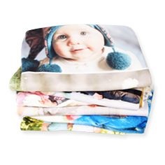 Put your photos or designs on a totally customizable fleece photo blanket. Add photos from your phone, computer, Facebook, Instagram or our historical photo archive. Create the perfect custom design with our easy-to-use tools.