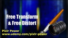 This video looks at the Free Transform and Free Distort tools from the Edit menu in Pixlr. Free Transform rotates and resizes an image whilst Free Distort changes the angles of an image. Pixlr Power: www.udemy.com/pixlr-power #pixlr #tutorials  #photoediting
