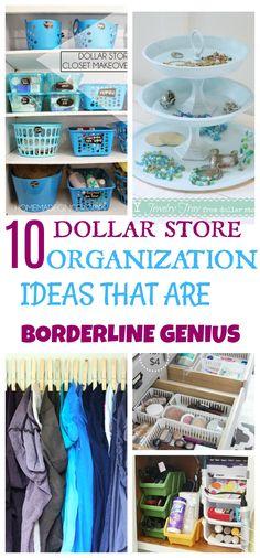 10 Dollar Store Organization Hacks That Are Borderline Genius