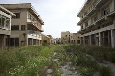 Abandoned city of Varosha located in the city of Famagusta within Northern Cyprus.