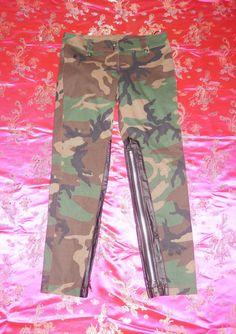 LIP SERVICE Day & Nite Stretch F**k'n Camo pants #64-47