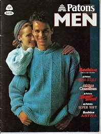 Patons 521 Patons Men (2000 Vintage Pattern) Knitting Ideas, Knitting Patterns, Men Sweater, Boys, Vintage, Baby Boys, Knit Patterns, Men's Knits, Knitting Stitch Patterns