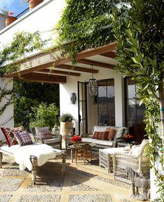 Outdoors patio : wonderful outdoor dining area design and decorating ideas. Outdoor Patio Designs, Outdoor Kitchen Design, Patio Ideas, Porch Ideas, Landscaping Ideas, Pergola Ideas, Pergola Kits, Backyard Ideas, Terrace Ideas