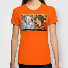 Archie & Edith Bunker  T-shirt by Portraits on the Periphery   - $22.00