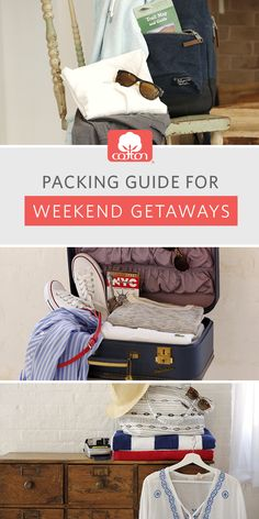 No matter the destination, don't forget to pack your cotton essentials!