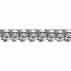 Star Wars Episode VII Stormtrooper Tapete | Bordüre für das Kinderzimmer
