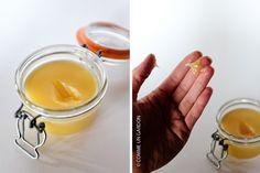 Crème pour le corps : beurre de cacao + huile de sésame et d'argan + cire d'abeille