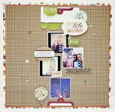 Featuring Thankful Products. What a great layout design! Guest Designer Jaime Wareen, for Bella Blvd.