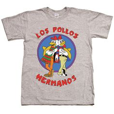 Los Pollos Hermanos Normal Breaking Bad T Shirt 3 Colours S-XXL DTG001