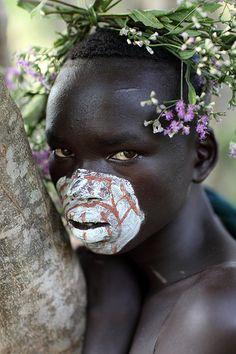 Ethiopian Tribes, Suri by Dietmar Temps  #world #cultures