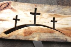 Your place to buy and sell all things handmade - Popular items for unique gifts gift for christian unique Wooden Projects, Woodworking Projects Diy, Diy Pallet Projects, Wooden Crafts, Unusual Gifts For Her, Unique Gifts, Cross Wall Art, Rustic Cross, Wooden Slices