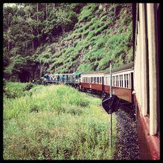 #OldPhotos #KurandaScenicRailway #Kuranda #Train #Cairns #Queensland #Australia #Y2011