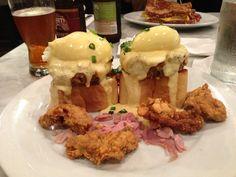 Eat breakfast in every neighborhood in New Orleans:  http://www.gonola.com/2015/02/24/top-10-best-new-orleans-breakfast-spots-by-neighborhood.html