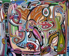 M.U.K. Vito, Art Brut, Make Art, Larger, Magazine Art, Fine Art Prints, Paint Colors, Poems, Color Heart