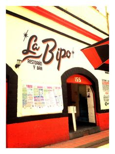 La Bipolar is a great, hipster joint with tasty (vegetarian friendly) fare up top and a pop-techno club downstairs.