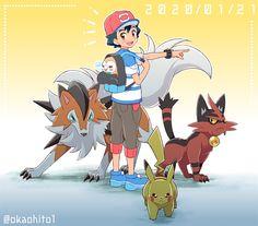 Sawyer Pokemon, Ash Pokemon Team, Pokemon Alola, Pokemon Funny, Pokemon Memes, Pikachu, Pokemon Ash Ketchum, Pokemon Fusion Art, Pokemon Pearl