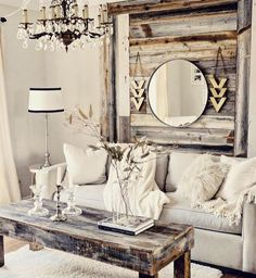 Adorable Cozy And Rustic Chic Living Room For Your Beautiful Home Decor Ideas 151
