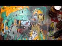 forever mixed media painting demo - mitsib