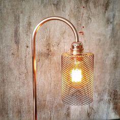 Lamp tabel industriële baksteen, koper, industriële lamp, tafellamp, lamp edison, interieur design, licht koper, Mod. LLCMR lamp Industrielamp geïnspireerd door de antieke fabrieken Engels, voldoet aan een industriële stijl die je zocht, verlichting met gloeilamp Edison naar uw keuze.