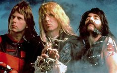 Christopher Guest, Michael McKean and Harry Shearer in 'This Is Spinal Tap' (1984)