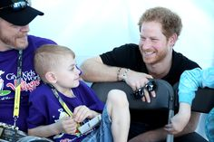 ORLANDO, FL - MAY 06:  Prince Harry meets children from 'Give Kids the World Village' as he visits venues ahead of Invictus Games Orlando 2016 at ESPN Wide World of Sports on May 6, 2016 in Orlando, Florida. Prince Harry, patron of the  Invictus Games Foundation is in Orlando ahead of the opening of Invictus Games which will open on Sunday. The Invictus Games is the only International sporting event for wounded, injured and sick servicemen and women. Started in 2014 by Prince Harry, the…