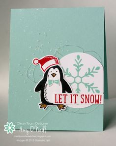 2015 Snowflakes and Penguin Snow Place Photopolymer Bundle – 140844 Price: $45.00