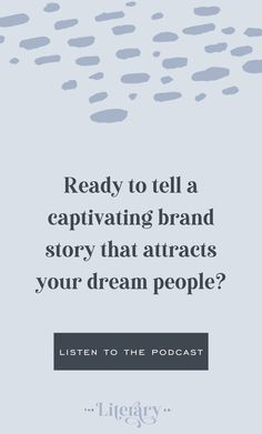 A Big Welcome To The Brand Book Podcast | Website Copywriting - The Literary Co Business Launch, Business Branding, Get To Know Me, To Tell, Brand Strategist, Brand Book, Brand Management, Brand Story, Writing Advice