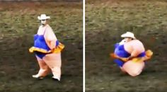 Country Music Lyrics - Quotes - Songs Viral content - Rodeo Clown Leaves Crowd Roaring After Hysterical Dance - Youtube Music Videos https://countryrebel.com/blogs/videos/rodeo-clown-leaves-crowd-roaring-after-hysterical-dance