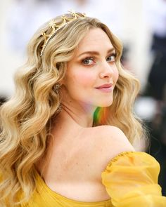 Amanda Seyfried from Best Beauty on the Met Gala 2018 Red Carpet The actress' makeup is summer goals.